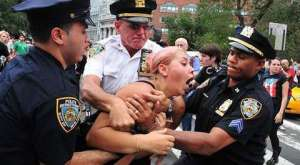 Police Brutality at Occupy Wall Street Reuters