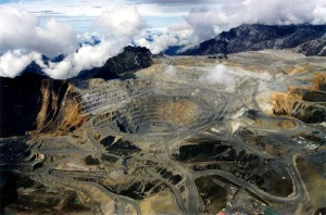Freeport Mine in Papua  Source Getty Images