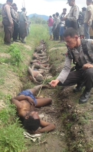 Mass Grave in Papua
