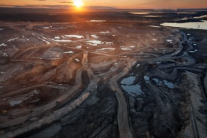 Alberta Tar Sands were once pristine boreal forests. Photographer Peter Essick