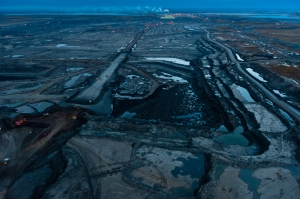 Tar Sands at night  Photographer Garth Lenz