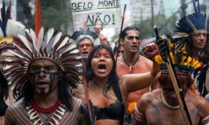 Belo Monte dam protest
