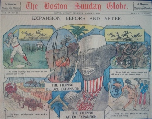 Boston Sunday Globe clipping