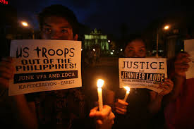 Candlelight Vigil for Jennifer Laude in Manilla  Photo by Jose Del  Rappler