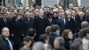 Leaders gather in Paris  photo Associated Press