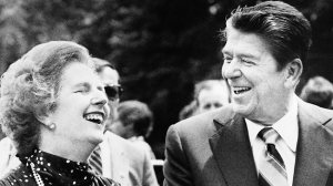Margaret Thatcher and Ronald Reagan Source Getty Images