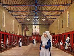 Medieval Hospice  Artist Robert Alan Thom