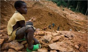 Mine in the Congo Johan Spanner for The New York Times