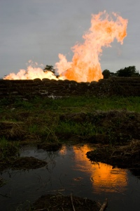 Niger Delta Oil Flaring Royal Dutch Shell Getty Images
