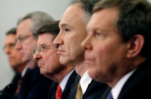 Oil Executives Source Chip Somodevilla Getty Images North America