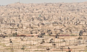 Oil Wells in Kern County California Photograph Mark Gamba