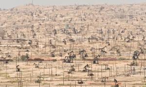 Oil Wells in Kern County California Photograph Mark Gamba