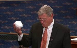 Senator Inhofe Brings a Snowball to the Senate to Disprove Climate Change Source CSpan