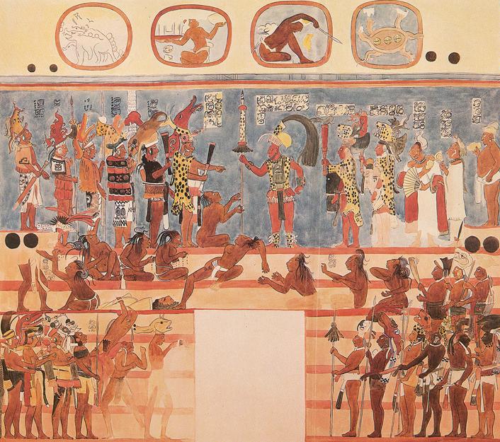 Image Gallery Mayan Sacrifice