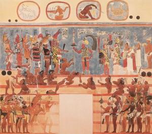 Mayan Sacrifice  Source Tarlton Law Library