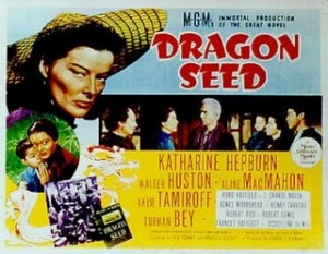 Promo for the WWII movie Dragon Seed