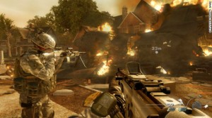 Still from Video Game Call of Duty  Source CNN
