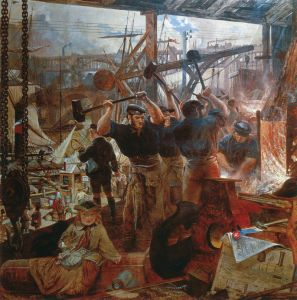 Iron and Coal, 1855–60, by William Bell Scott