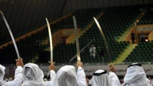 Saudi swordsmen used for executions. Source Yahoo.