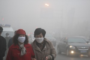 Air Pollution in China ChinaFotoPress Getty Images