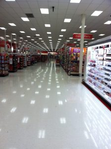 An empty big box store. Photo by Kenn Orphan.