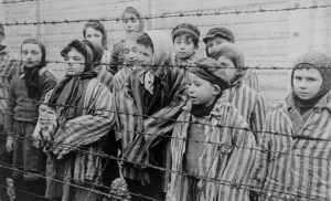 Children at a Nazi concentration camp. Source National Holocaust Museum.