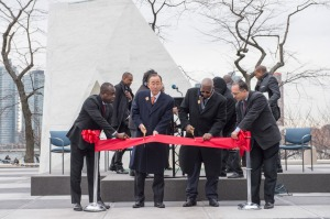 United Nations News Centre - UN unveils permanent memorial to victims of transatlantic slave trade