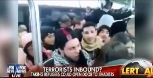 Fear mongering and demonization of Syrian refugees in the media. Source Fox News.
