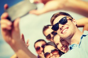 Selfie. Image from Shutterstock