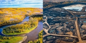 The Alberta Tar Sands and the ecocide of imperialism. Source, Ecowatch.
