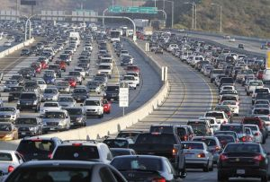 San Diego Traffic. Photo from LA Times Blog.