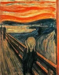 The Scream by Edvard Munch.