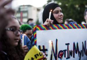 Not in My Name, Muslims condemn Orlando attack.