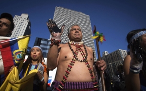 indigenous-leaders-from-ecuador-protest-chevrons-deliberate-pollution-of-the-rainforest-photo-from-new-york-times