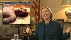 hillary-clinton-laughs-about-the-brutal-murder-of-gaddafi